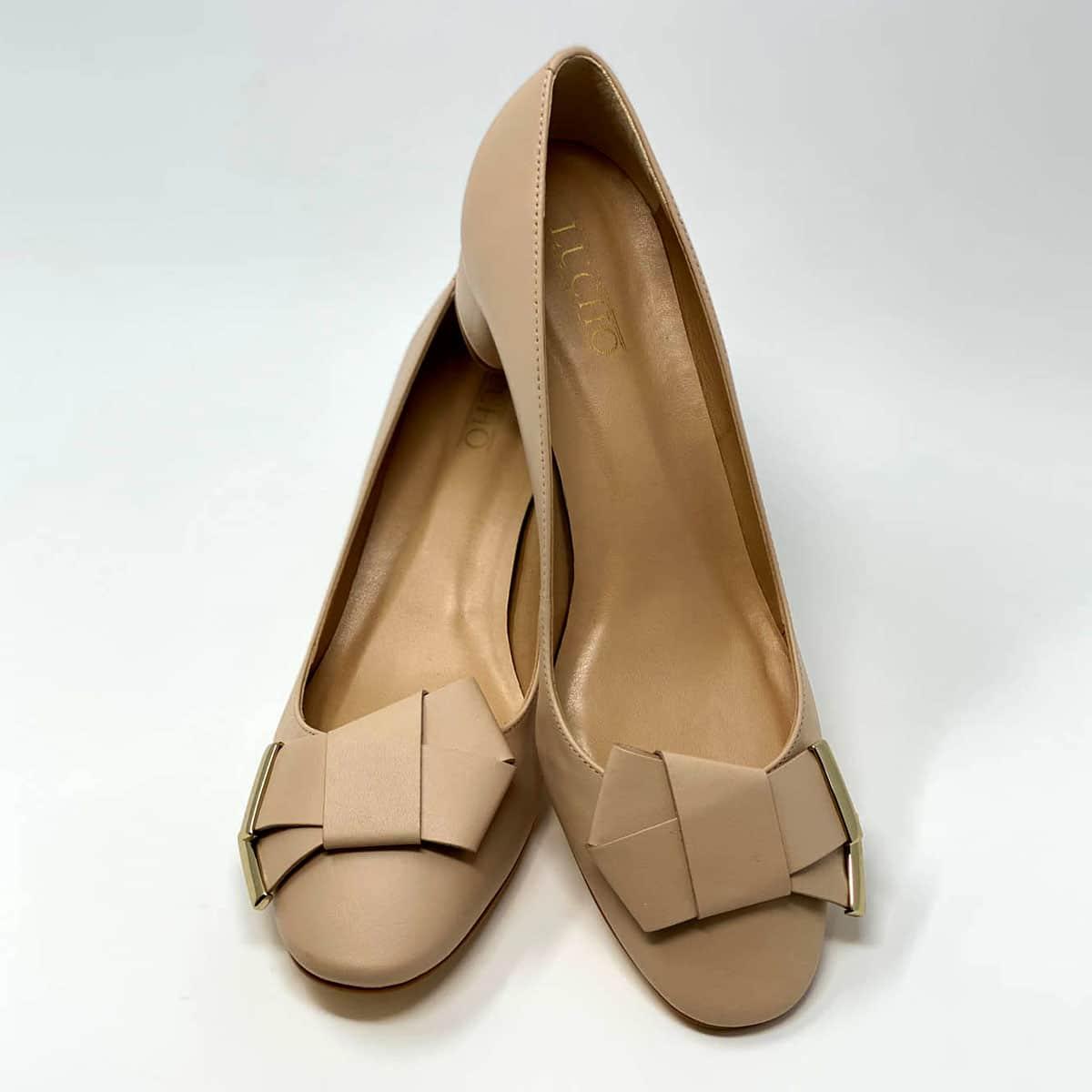 Nude Napa Round Heel
