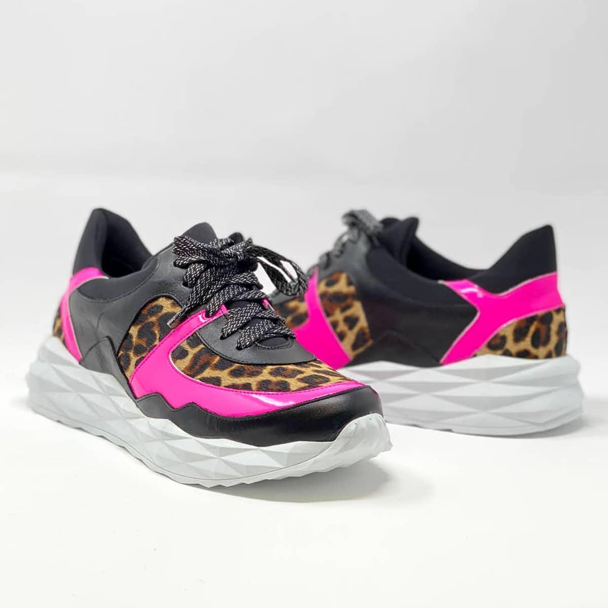 Leopard Pink Sneaker
