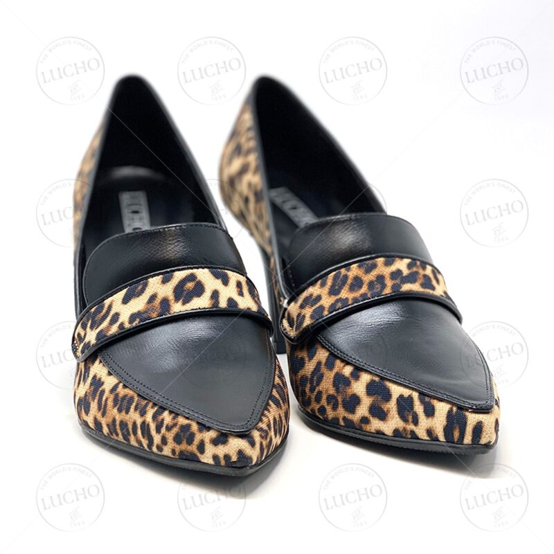 Animal Print Pointed Closed Toe Pump 00009